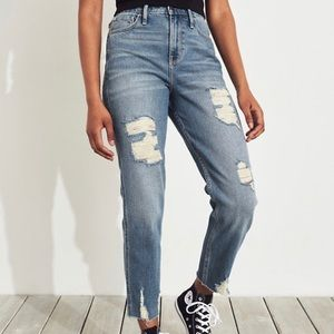 Hollister Mom Jeans Size 3R